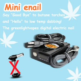 Hot selling products best quality g9 510nail vapor with Glass water Pipe screw on nail henail