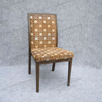 antique & comfortable hotel restaurant living room imitated wood chair