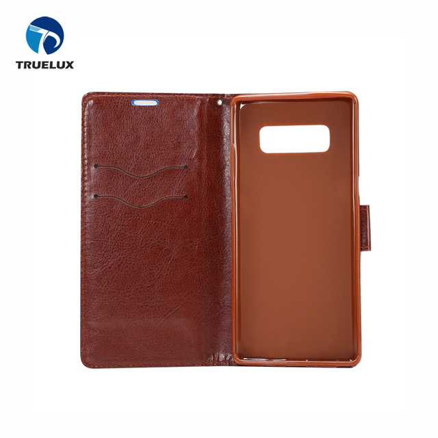 Top Grade PU Leather Battery Back Housing Cover for Samsung Galaxy Note 8