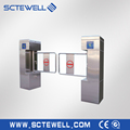 Swing turnstile motor swing barrier gate security device