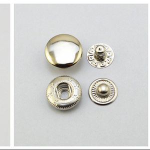 durable snap magnetic brass buttons for clothing