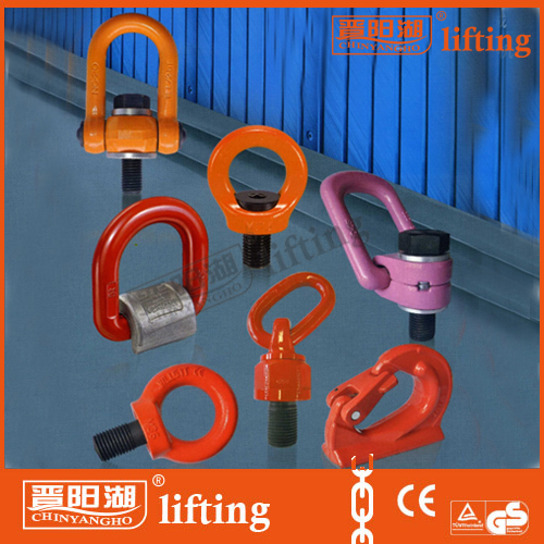 Trade Assurance Supplier Forged Alloy Steel Ring Lifting Points on SALE