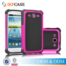 Dual Layer Rugged Heavy Duty Impact Matte Armor Hard Hybrid Shock Absorbing Case Cover for Samsung Galaxy S3 i9300