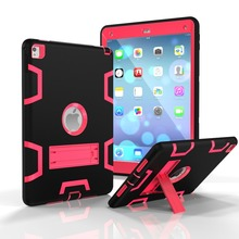 for ipad smart case , explosion proof case for ipad 6, drop proof cover case tablet cover for ipad air 2