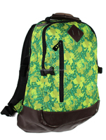 Allover Print Travel Backpack With PU Bottom