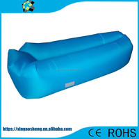 OEM banana sleeping bag For camping and hangout inflatable laybags