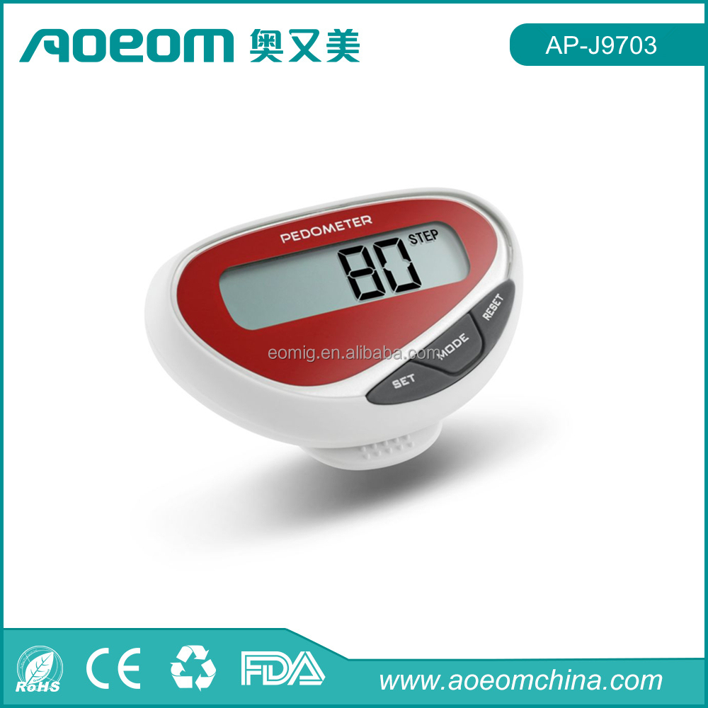 Digital smart pedometer watch step run walking distance calorie counter watch