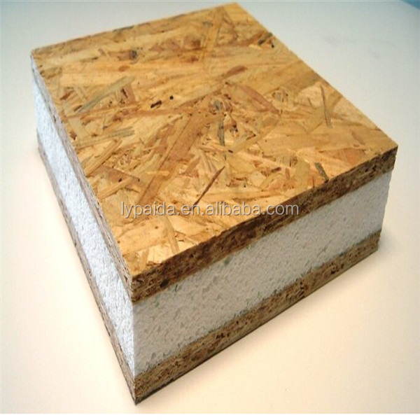 osb xps sandwich panel green wooden houses