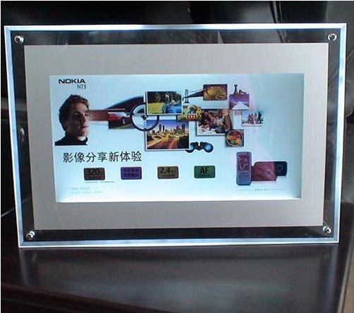 wall mounted small photography crystal acrylic super slim <strong>advertising</strong> led light box display illuminated <strong>advertising</strong> boards sign