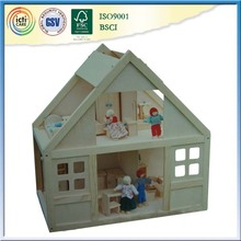 Cheap home decoration wholesale with dolls and furniture