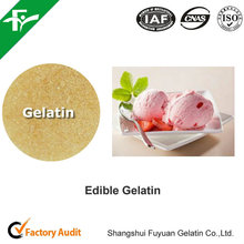 China supply High Quality Edible Gelatin For Cakes and Pastries