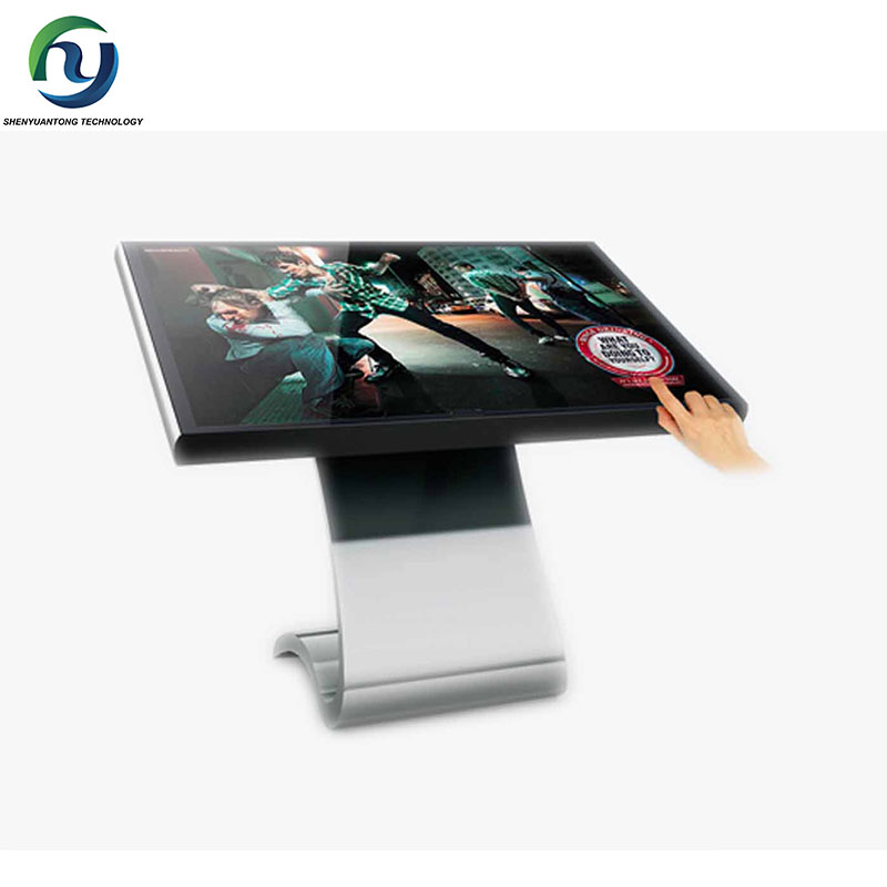 32 inch lcd interactive multi touch screen kiosk