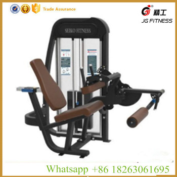 China fitness equipment gym use cybex fitness equipment seated leg curl