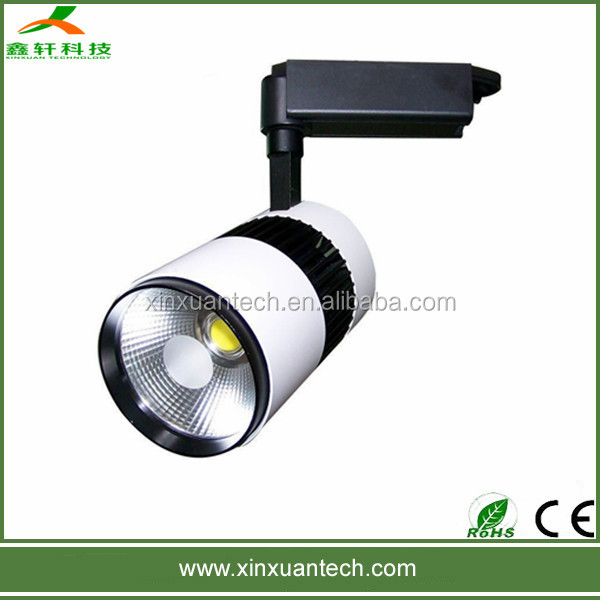 Luminaire indoor led track light wide range of watt for your choice