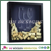 Wine cork shadow box for sale