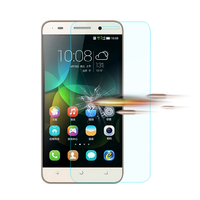 anti scratch anti oil anti fingerprint custom made tempered glass screen protector for Honor 4C