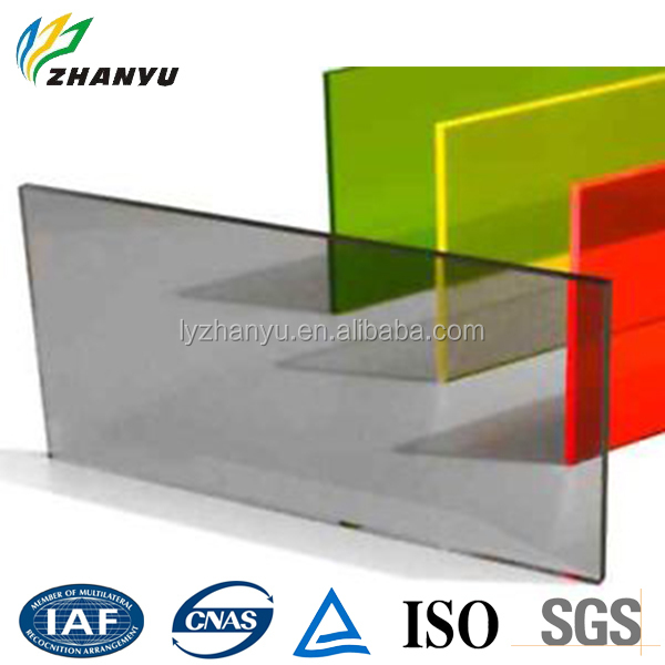 High Quality Colorful High Transparency Plexiglass Wall Panel Cheap Price