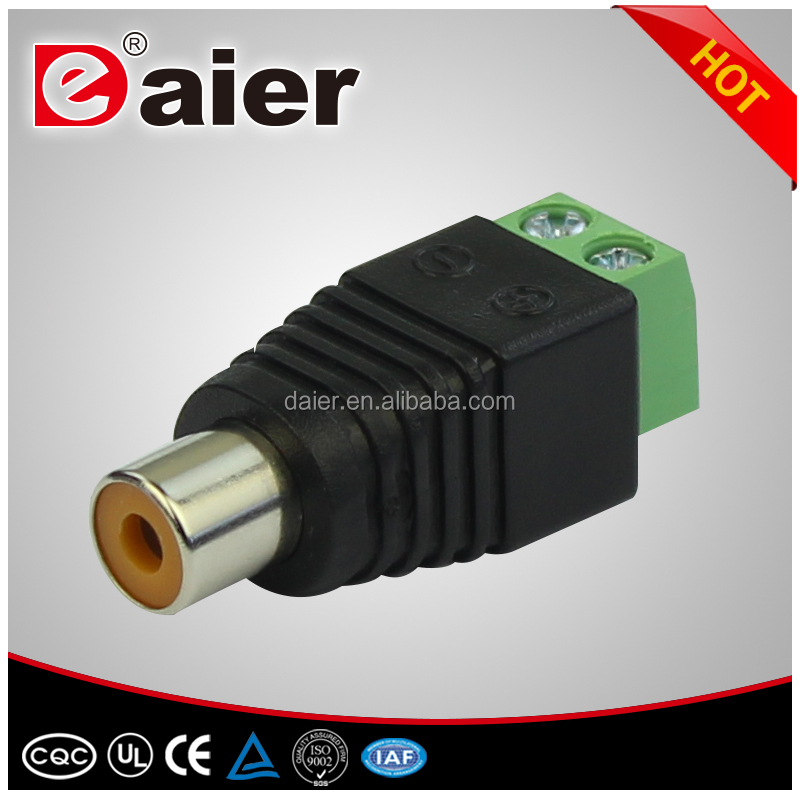 female rca connector male rca plug socket rca jack for pcb mount