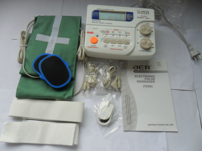 electronic muscle pain therapy massager for white collar and elders EA-F20
