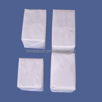 Surgical medical cotton gauze swab for hospital use