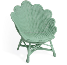 2016 hot selling product scallop edged outdoor balcony casual furniture peacock chair rattan