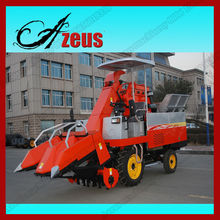 Automatic Self-propelled 2 Rows Mini Corn Combine Harvester for Sale