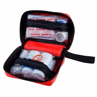 Light and Durable first aid equipment/medicine kit/trauma bag for Camping, Hiking, Car. Fully Stocked for an Emergency, Survival