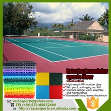 High Quality ECO-friendly interlock modular basketball court