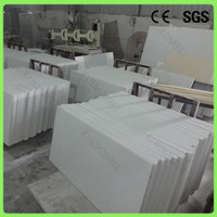 Hot sale stone quartz square meter price tile