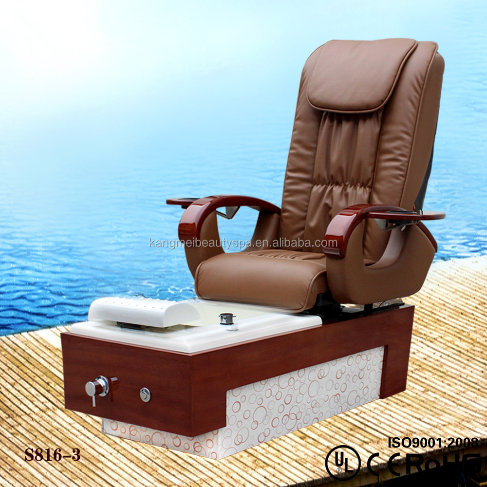 Detox foot spa pedicure spa massage chair for nail salon with MP3 s816-3