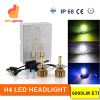 new arrival new generation 12v 40w 4800LM R3 led headlight, h1 h3 h4 h7 h11 h13 9004 9006 9007 9005 car h4 led headlight bulbs