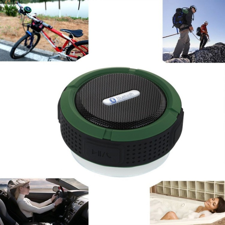 bluetooth connectable qsc portable magnetic speakers
