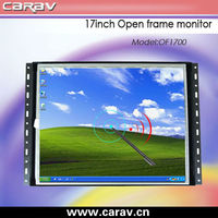 Kiosks cheap price 17 inch tft lcd open frame touch screen monitor