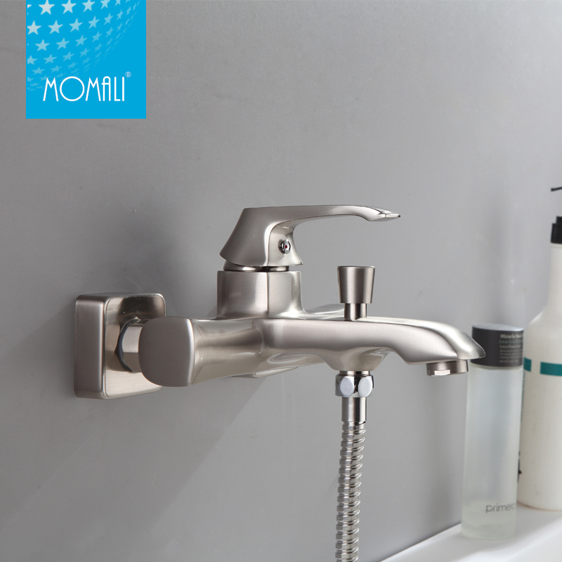 2016 Hot Sale Online Shopping, New Design Nickel Brushed Bathroom Bath Faucet