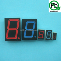 "RED 0.5"" seven segment / 7 segment led digit clock display 1 digit"