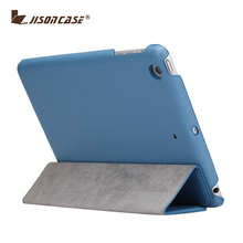 Jisoncase New design Stand PU Leather Case for iPad Mini 2 for iPad Mini2 leather case cover