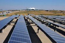 ground mount commercial grid tie 500kw solar field
