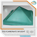 polycarbonate pyramid skylight soofing polycarbonate dome skylight
