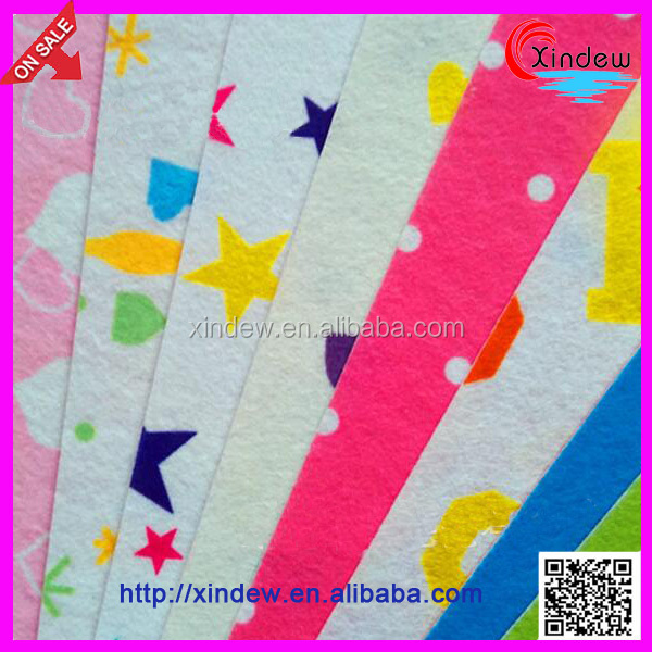 Nonwoven Polyester printed felt /Fabric