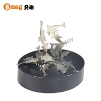 New trendy products abstract office stress relief toy magnetic sculpture