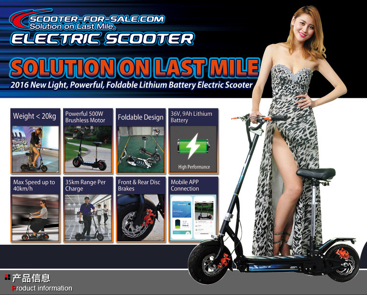 Best quality promotional standing electric motorcycle scooter citycoco 2000 w