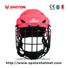 58-61cm 14 Holes Colorful Adult football helmet with stainless steel face mask