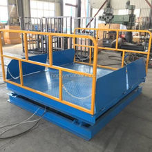 Best selling high strength steel pipe hydraulic foldable scissor lifts