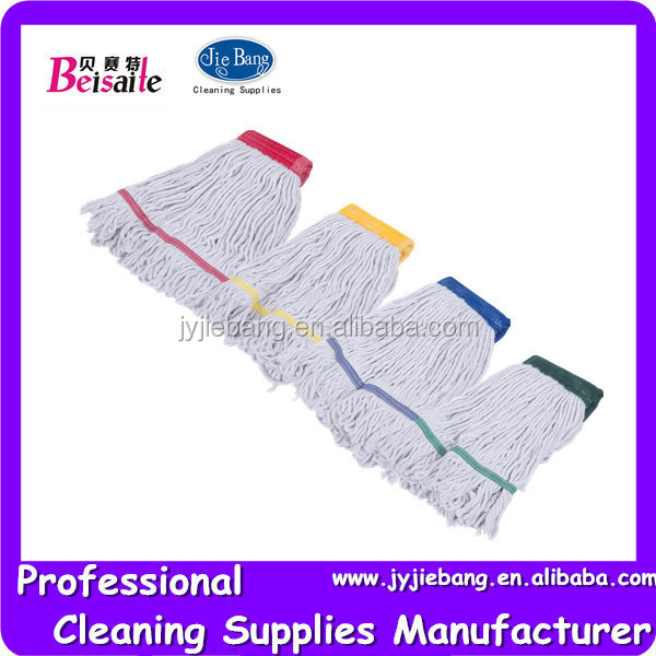 60% cotton 40%polyester cotton wet mop refill