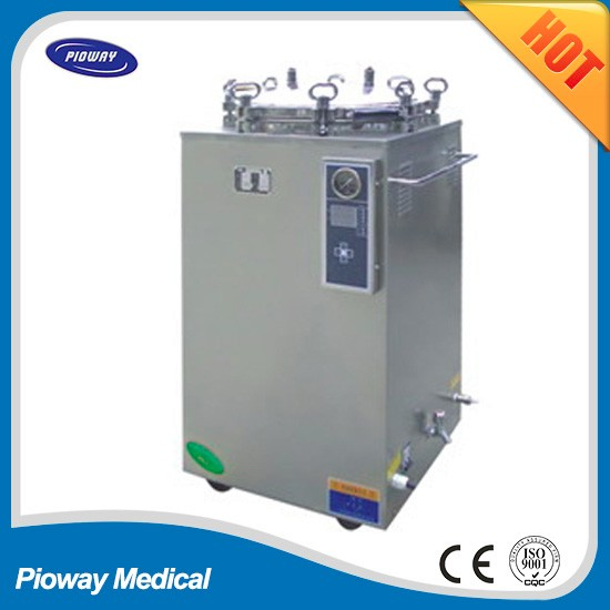 35L-150L digital display touch vertical Pressure Steam Sterilizer (Electric Heated), Pioway Brand, with ISO 13485 Certification