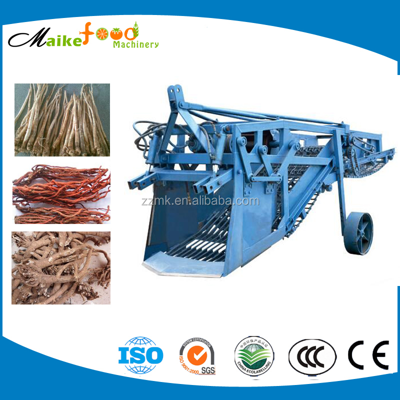 Agricultural harvester combine, tractor mounted harvester,cassava root harvester