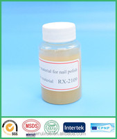 RX-2109 semi-transparent color factory bulk quantity nail polish raw material