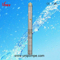 "5"" deep well submersible pump, stainless steel borehole pumps"
