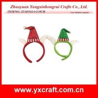 Christmas decoration (ZY14Y513-1-2 19CM) christmas elf headband kid hair decoration gift use