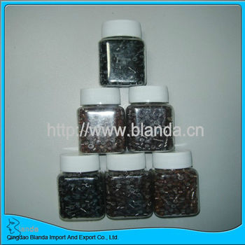 Silicone Micro Beads For Hair Extensions